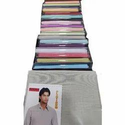 Cotton Blend Arvind Textile Shirting Fabrics