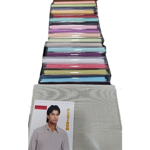 Cotton Blend Arvind Textile Shirting Fabrics