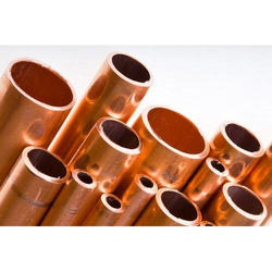 Round And Rectangular Brown Annealed Copper Pipe, Size: 0-1