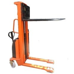 AC Power Fabricated Fork Stacker
