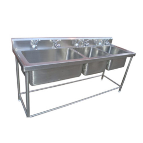 used commercial restaurant stainless steel kitchen sink at rs 19500 rh indiamart com commercial stainless steel kitchen utility sink - 30 wide portable commercial kitchen sinks stainless steel