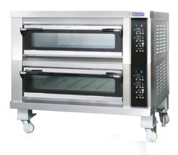 Double Deck 4 Tray Oven