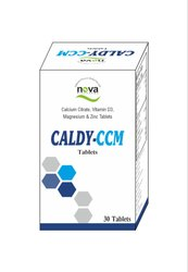 Calcium Citrate Vitamin D3 Magnesium Zinc-30 Tablets