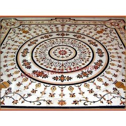 Stone Inlay Flooring and Tile