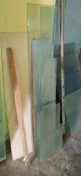 Transparent 12 Mm Plain Glass, For Partition, Size: 3x5 Feet