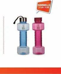 RELIANCE PLAST Dumble PET Water Bottle, Capacity: 400
