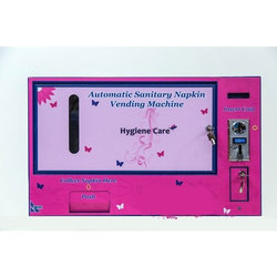 Coin Operated Automatic Sanitary Napkin Vending Machine