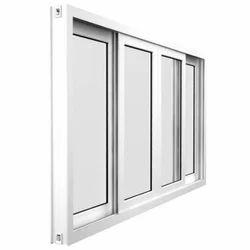 White Frame Aluminium Window