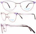 Salvador Designer Titanium Women's Optical Frame-49021, Size: 52 Mm