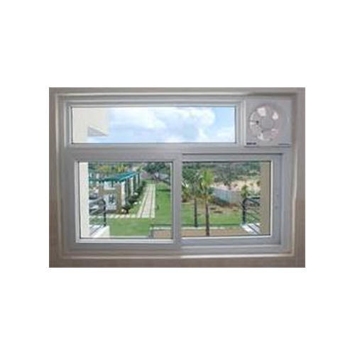 Radius Residential Upvc Window With Exhaust Fan Glass Thickness 8 Mm Rs 569 Square Feet Id 19836009933