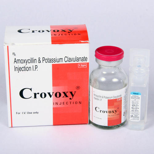 Amoxicillin 1000mg Potassium Clavulanate 200 Mg Injection, 1 Vial ,packaging Type: Box