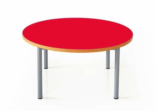 Kids Round Table Desk Pre School, Kids Round Table