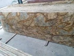 Alaska Gold Granite Polished