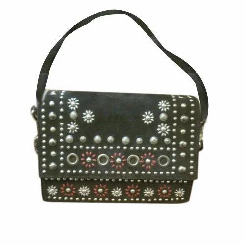 24dc1622b6f Olive Green Ladies Beaded Sling Bag, Rs 1400  piece, Vidaan   ID ...