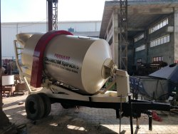 Diesel Engine Ready Mix Concrete Transit Mixer Machine, For Construction, Drum Capacity: 3 MQ