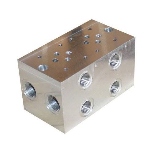 Hydraulic Manifold Block, For Industrial, Model Name/Number: NG-20
