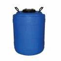 Hdpe Storage Drums, Capacity: 50 L