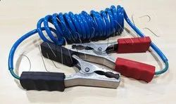 Spiral Earthing Cable With Earth Clamps