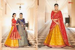 Pragya Series 7021-7030 Stylish Party Wear Banarsi Lehenga (single Available)