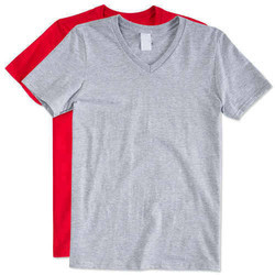 Casual Wear Mens Plain Half Sleeves T Shirt
