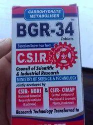 Carbohydrate Metaboliser BGR-34 Tablets