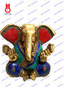 Lord Appu Ganesh Big Ears W/Stone Work Statue