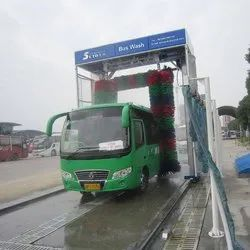 Tunnel Bus Washing System