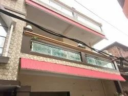 Balcony Bar Stainless Steel Glass Railing, For Home