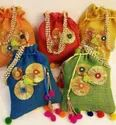 Jute Potli Bags for gifting