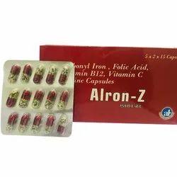 Alron Z Capsules, Alive Healthcare, Prescription