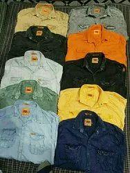 Zordan Denim RFD Shirts, Size: M, L And XL
