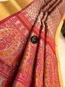 Embroidered Tissue Silk Linen Sarees