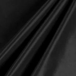 KFL Black 300T Cire Finish Taffeta Fabric, For Garment, GSM: 60-100 GSM