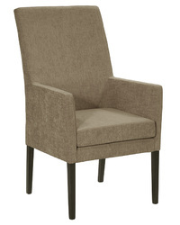Light Brown Wood Fine Dine Restaurant Chair