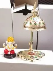 Meenakaari Acrylic Ganeshji Gift Statue, For Gifting And Decor