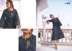 Cotton Embroidered Omtex Shringar-Long Readymade Dresses And Tunics