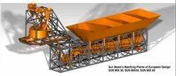 Reverse Drum Mixer Electric Engine Ready Mix Concrete Plant, For Construction, Output Capacity: 480 Liters