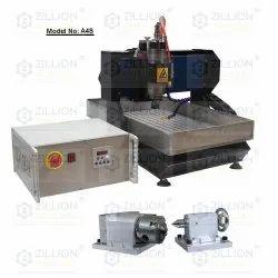 4axis Mini CNC Machine