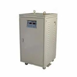 Copper Three Phase Servo Voltage Stabilizer, Current Capacity: Ampere, 440