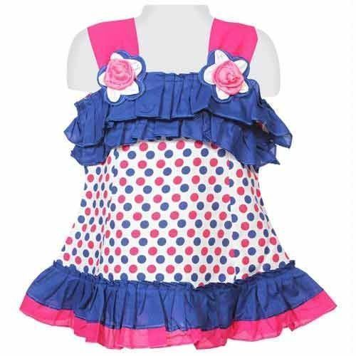 7e7626031a28 Cotton Party Wear Baby Girl Frock