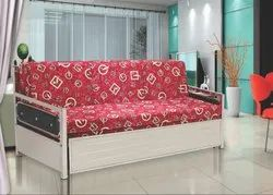 Decorative Steel Plus Metal Sofa Bed, For Home