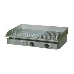 Half Grooved Electric Hot Plate