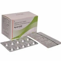 Rabeprazole (Enteric Coated) And Domperidone (Sustained Release ) Capsules