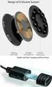 Ultra Thin Small Sucker with Gamers Mobile Phone QI Wireless Charging Pad