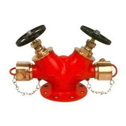 Gunmetal Double Headed Hydrant Valve