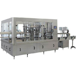 Automatic Rinser Filler Capper Machine