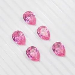 Cubic Zirconia Pink Pear