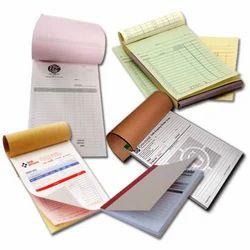 Bill Books Printing Service