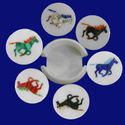 Beautiful Horse Design Coaster Set