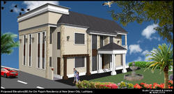 Residential 2 Classical Residence, Size/ Area: 4000 Sq.ft ,Area Of Construction: Ludhiana